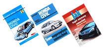 Książki o samochodach marki Honda