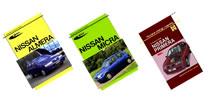 Książki o samochodach marki Nissan