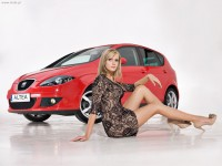Seat Altea i Miss Polonia 2008