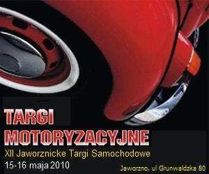 XII Jaworznicki Saon Motoryzacyjny - plakat