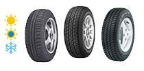 Opony samochodowe do Peugeot - zimowe, letnie i całoroczne - konfigurator