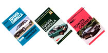 Książki o samochodach marki Toyota